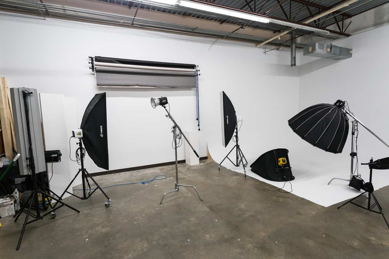 Photography Studio Rental - Backdrops