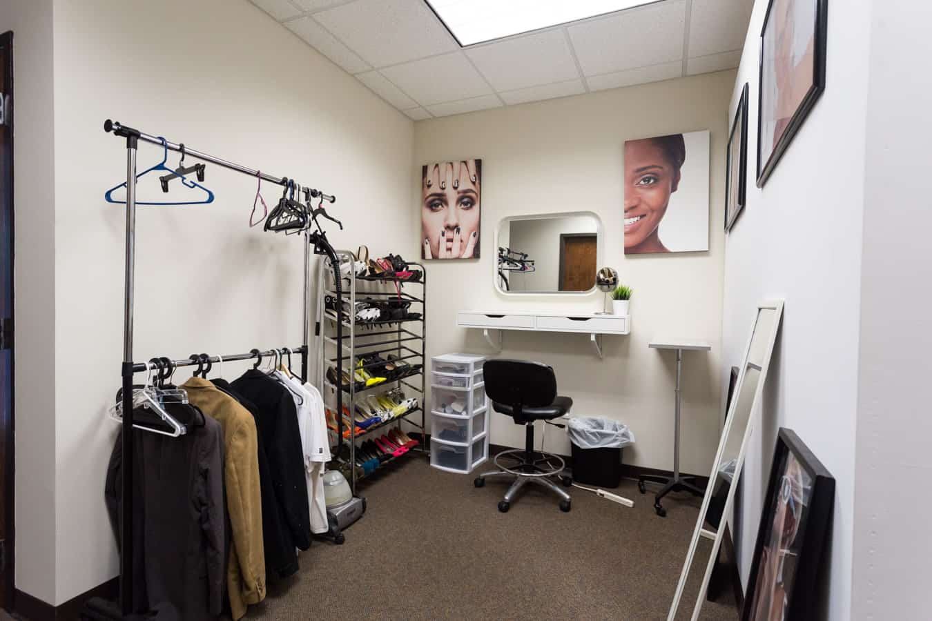 Photography Studio Hair & Makeup Station Charlotte, NC